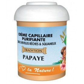 MISS ANTILLES Crème capillaire purifiante à la Papaye 125ml