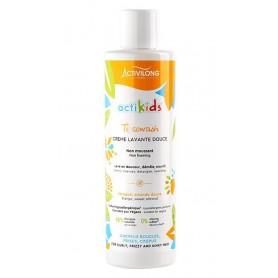 ACTIVILONG Ti Cowash Gentle Cleansing Cream MILD MANGO & SOFT ALMOND 240ml (ACTIKIDS)