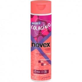 NOVEX Après-shampoing pour cheveux abîmés au COLLAGENE 300ml