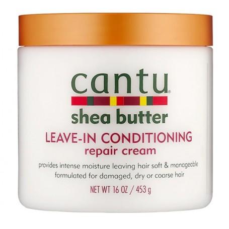CANTU Crème réparatrice beurre de karité 453g (leave in cond.) *nouveau packaging