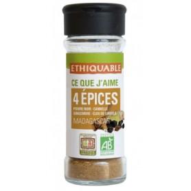 ETHIQUABLE Mélange 4 épices BIO 40g