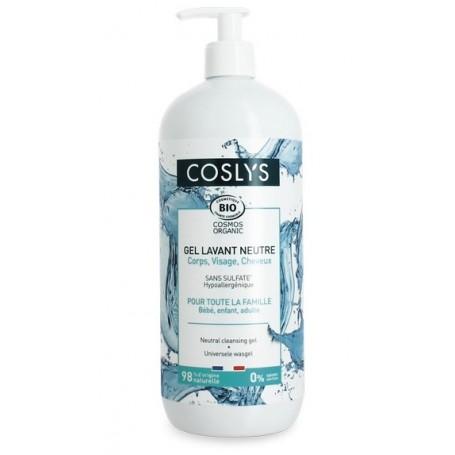 COSLY Gel lavant neutre hypoallergénqiue 1L