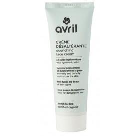 AVRIL Crème désaltérante bio ACIDE HYALURONIQUE pour visage 50ml