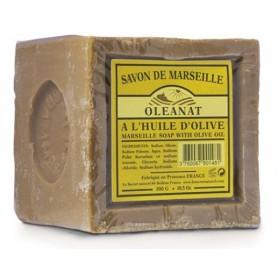 OLÉANAT Savon de marseille à l'huile d'olive 72% 300g