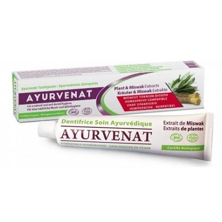 AYURVÉNAT Dentifrice Ayurvédique BIO 75ml