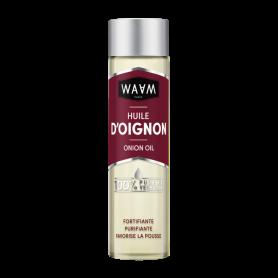 WAAM Huile d'oignon 100% pure et végétale 100ml
