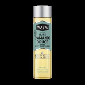 WAAM COSMETICS Huile d'Amande douce 100% pure et végétale 100ml