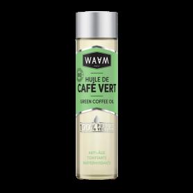 WAAM Huile de Café vert 100% pure et végétale 100ml