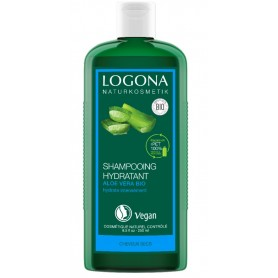 LOGONA Organic Moisturizing Shampoo with Aloe Vera 250ml