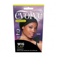 Bonnet pour perruque Wig cap NOIR x2 (Evolve)