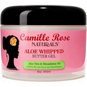 CAMILLE ROSE NATURALS Gel fouetté ALOE MACADAMIA ALOE WHIPPED 240ml (Butter Gel)
