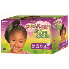 Straightener kit for children with thick hair (Coarse)