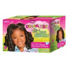 Kit défrisant pour enfants cheveux normaux (Regular)