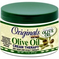 Traitement capillaire pour cheveux secs OLIVE OIL 213g