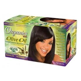 Organics by Africa's Best Kit défrisant & revitalisant huile d'olive (Normal)