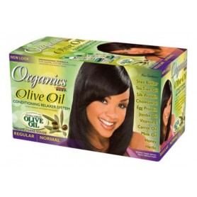 Organics by Africa's Best Kit Olive Oil Relaxer & Conditioner (Normal)