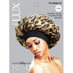 Bonnet en satin taille L à XL QFITT LUX