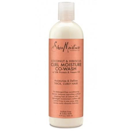 SHEA MOISTURE Après-shampoing CO-WASH Coco & Hibiscus 237ml