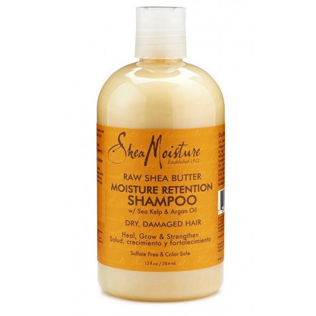 "Shea Moisture shampooing Beurre de Karité ""Retention"" 384 ml"