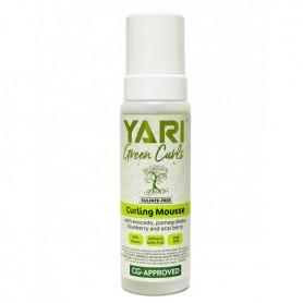 YARI Mousse coiffante pour boucles GREEN CURLS 220ml