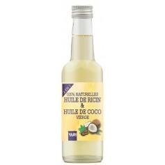 YARI Huile 2 en 1 RICIN & COCO 100% NATUREL 250ml