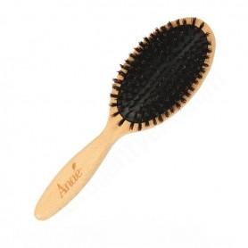 ANAÉ Brosse plate à poils de sanglier avec coussin