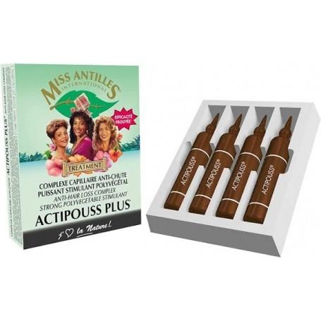 MISS ANTILLES Traitement Actipouss Plus X 4 Ampoules 10ml