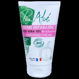 PUR ALOE Crème réparatrice pour la peau à l'Aloé véra BIO 150ml