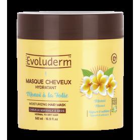 ÉVOLUDERM Masque Hydratant au Monoï 500ml