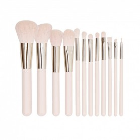 TOOLS FOR BEAUTY Set de maquillage 12 pinceaux Rose