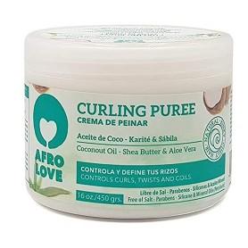 AFRO LOVE Crème capillaire définition boucles CURLING PURÉE 450g