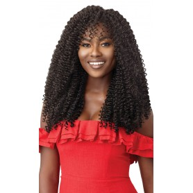 """OUTRE natte 2X TWISTED UP WATERWAVE FRO TWIST 22"""" (X Pression)"""