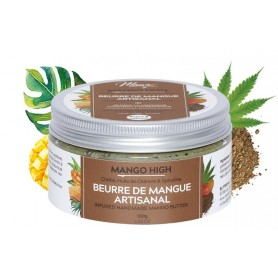 MANGO BUTTERFULL Beurre de Mangue, Chebé et Chanvre MANGO HIGH 100g