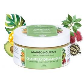 MANGO BUTTERFULL Chantilly de Mangue, Avocat et Carapate MANGO NOURISH 100g