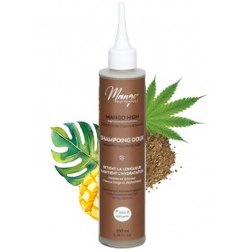 MANGO BUTTERFULL Shampoing doux Mangue, Chebé et Chanvre MANGO HIGH 200ml