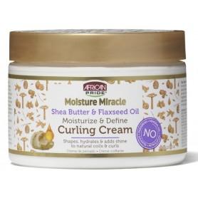 AFRICAN PRIDE Crème coiffante pour boucles (Moisture Miracle) 340g