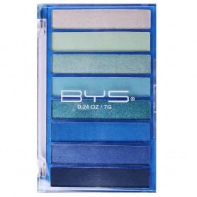 BE YOUR SELF Palette de 8 fards en Camaïeu Bleu 7g