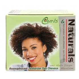 "CURLS & NATURALS KIT ASSOUPLISSANT ARGAN MAROCAINE ""Texturizer Hair Softener"""