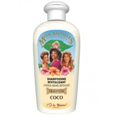 MISS ANTILLE Shampooing revitalisant au lait de Coco 250ml