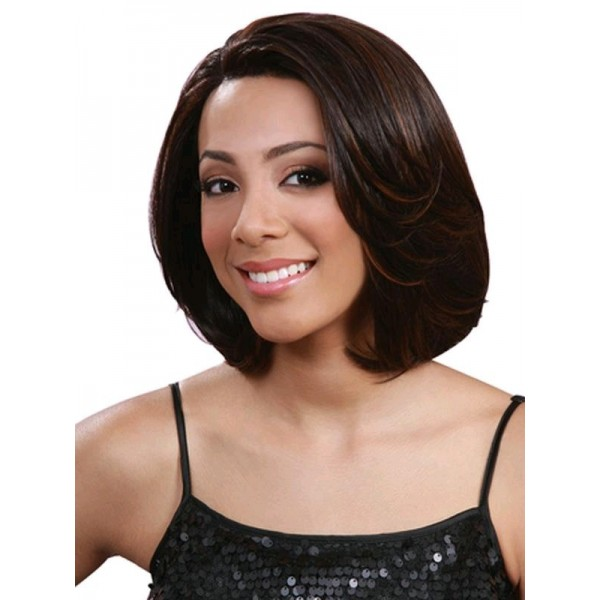 Bobbi Boss perruque MLF34 EBONY (Lace Front)