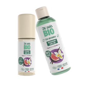 Déodorant roll-on figue et vanille 24h rechargeable BIO