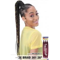 "FREETRESS 3x BRAID 301 28"" braid"