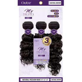 """OUTRE tissage NATURAL PASSION WAVE 10""""/12""""/14"""" (Mytresses)"""