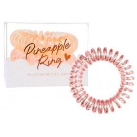 Set de 3 élastiques PINEAPPLE RING PINK