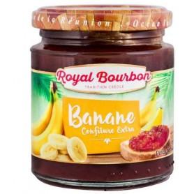ROYAL BOURBON Confiture extra à la Banane 250g