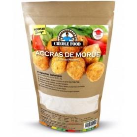 CRÉOLE FOOD Pâte d'accras de morue 120g