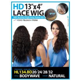 BESHE perruque brésilienne HL134.BD24 (HD Lace front)