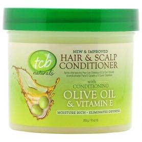 TCB Après-shampoig pour cheveux et cuir chevelu OLIVE OIL 283g