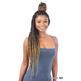 """MILKYWAY QUE natte 3x PROFESSIONAL PRE-STRETCHED BRAID 28"""""""