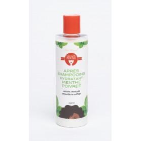 CRAZY POUSS Après-shampoing hydratant à la Menthe poivrée 250ml